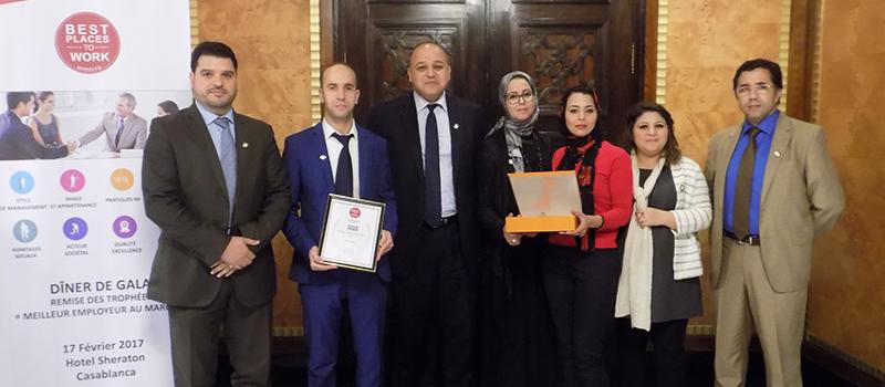 SGS Maroc dans le top 5 des Meilleurs Employeurs au Maroc