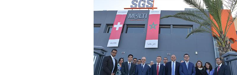 SGS Maroc lance un multi-laboratoire et confirme ses ambitions africaines